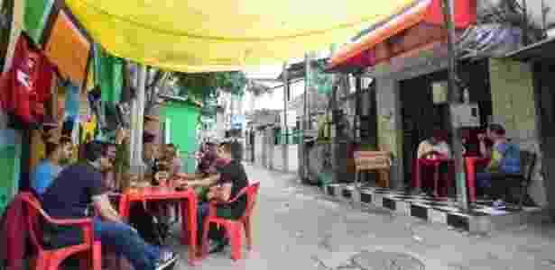 Restaurante na favela Coliseu recebe funcionários de empresas da Vila Olímpia - Diego Padgurschi - Diego Padgurschi