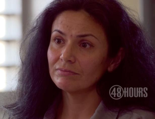 A russa Viktoria Nasyrova, 42, afirmou, em entrevista à CBS, que é inocente - Reprodução de TV/CBS