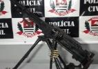 Polícia apreende metralhadora de guerra avaliada em R$ 300 mil em Ribeirão Preto - Divulgação/Polícia Civil