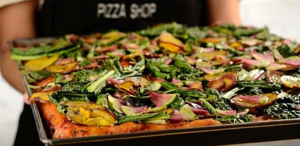 Da Mooca Pizza Shop pizza veggie