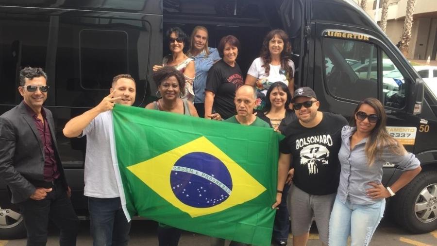 Caravana de 11 pessoas percorre 910 quilômetros entre Piracicaba (SP) e Brasília - Felipe Pereira/UOL