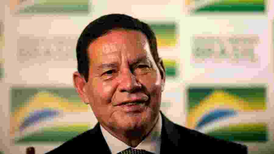 21.fev.2019 - Vice-presidente da República, general da reserva Hamilton Mourão - Sérgio Lima/AFP Photo
