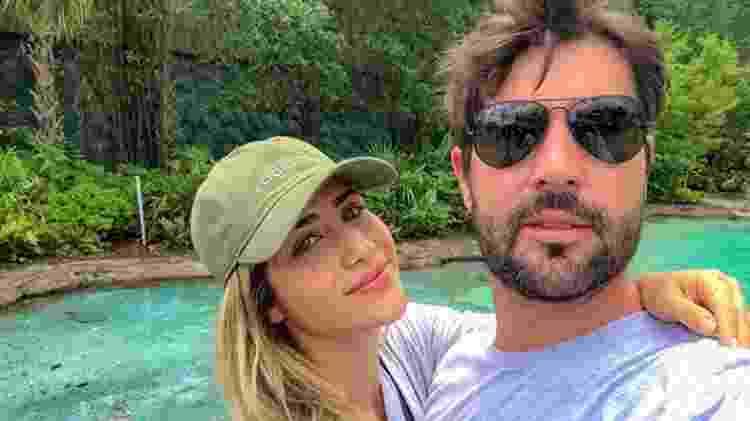 Jéssica Costa e Sandro Pedroso se casaram, mas Leonardo não compareceu à cerimônia - Reprodução/Instagram