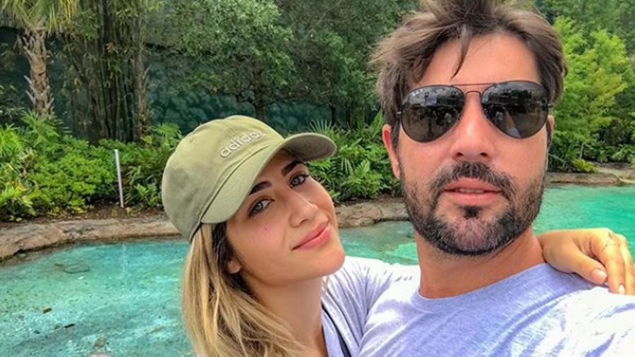 Jessica Costa e Sandro Pedroso - Reprodução/Instagram