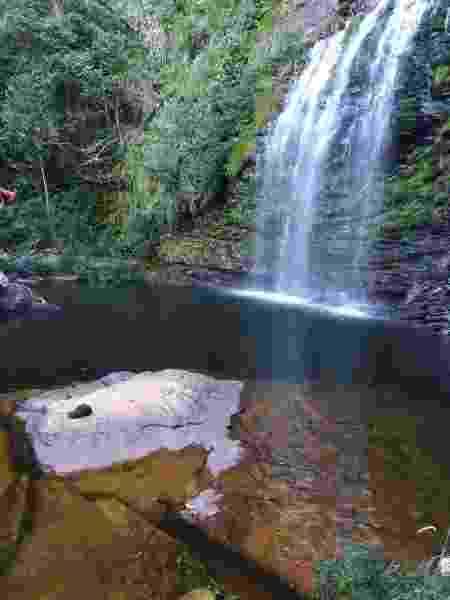 Cachoeira na Serra do Cipó, em Santana do Riacho (MG) - Divulgação/CBMMG