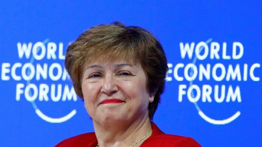 25.jan.2019 - Kristalina Georgieva, presidente do Banco Mundial - Por Andrea Shalal e David Lawder