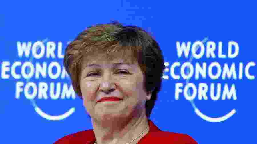 25.jan.2019 - Kristalina Georgieva, presidente do Banco Mundial - Por Andrea Shalal e David Lawder