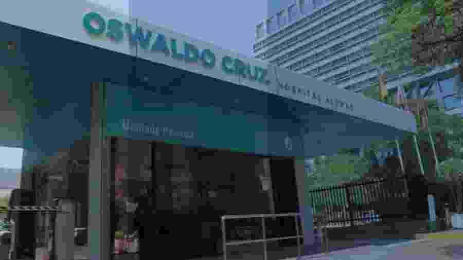 Procon-SP multa Hospital Alemão Oswaldo Cruz - Reprodução/Facebook/HospitalAlemaoOswaldoCruz