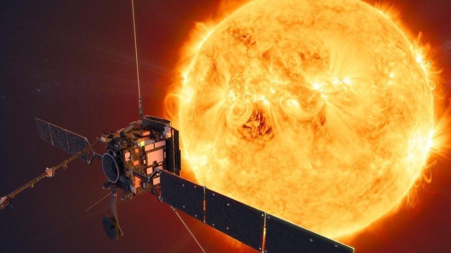 A sonda espacial Solar Orbiter vai nos ajudar a entender como o Sol afeta a tecnologia - ESA