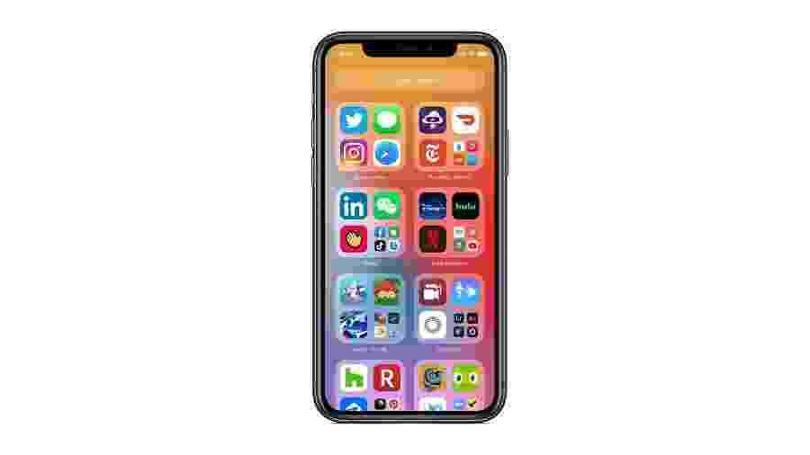 iOS 14: Biblioteca de aplicativos, widgets e acesso a programas sem precisar instalá-los são algumas das novidades - Divulgação