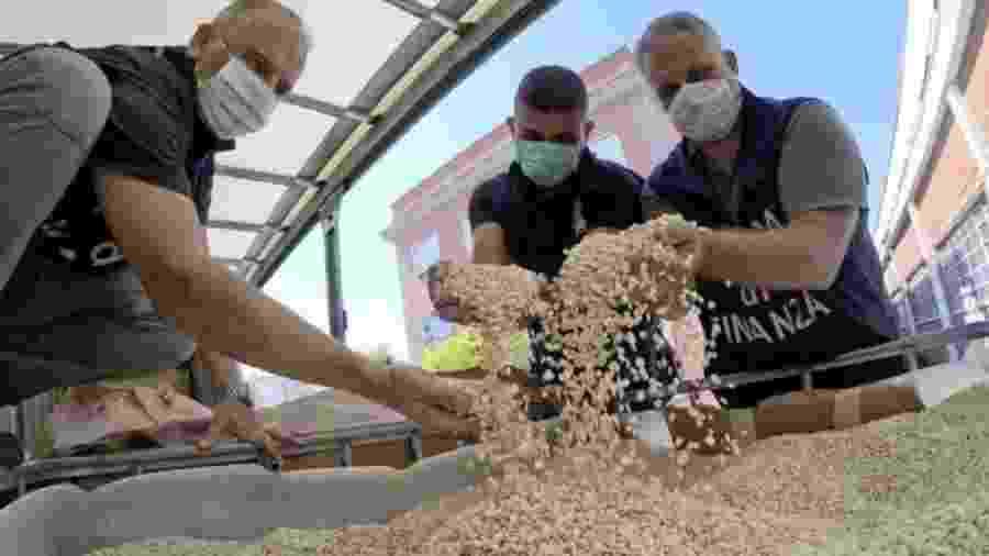 Captagon falsificado é uma das drogas mais populares entre jovens ricos no Oriente Médio  - EPA