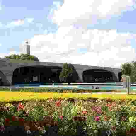 Fachada da extinta ESAF (Escola de Administração Fazendária), agora ocupada pela ESG (Escola Superior de Guerra), em Brasília - Sindifisco Nacional / site na internet