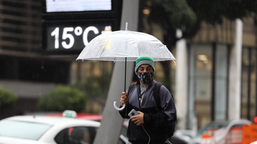 Em São Paulo, a previsão para o fim de semana é de que o tempo se torne mais úmido e frio - DANILO M YOSHIOKA/ESTADÃO CONTEÚDO