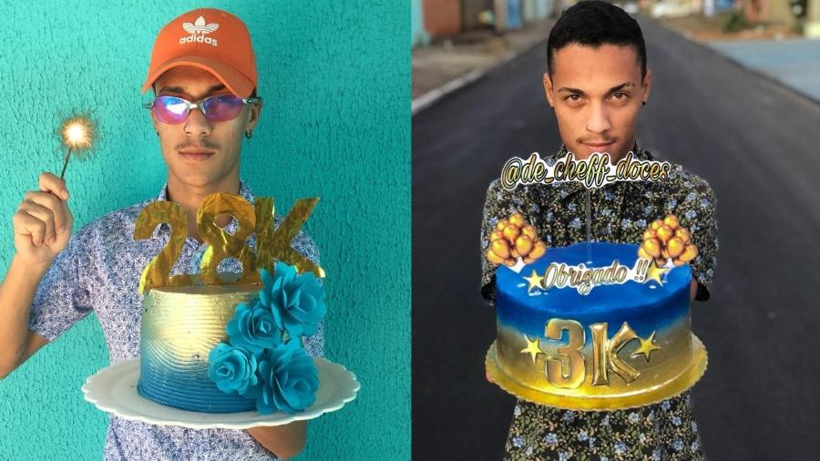Alexandre Marques Ferreira, confeiteiro que fez sucesso no Instagram misturando funk e bolos - Acervo pessoal