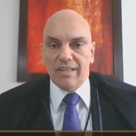 O ministro Alexandre de Moraes, do STF, decidiu que cabe ao plenário da Corte definir sobre o depoimento de Bolsonaro - Reprodução