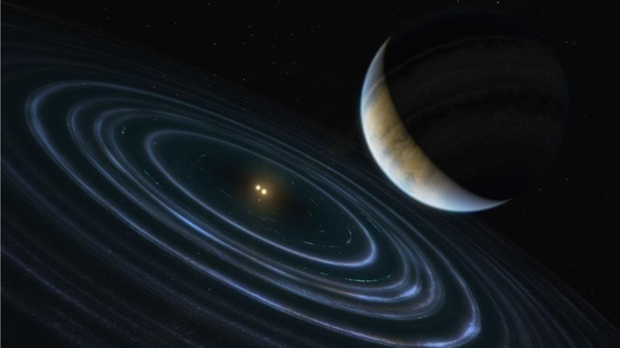O exoplaneta HD 106906 b pode explicar fatos desconhecidos  - Divulgação/NASA, ESA e M. Kornmesser (ESA/Hubble)
