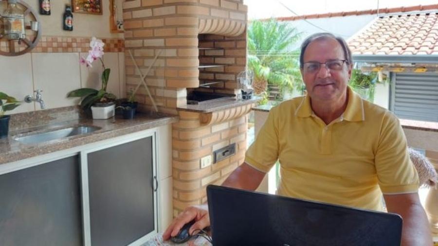 Alberto Gobato Filho trabalhou por 35 anos em uma empresa têxtil, onde entrou como auxiliar de almoxarifado e saiu como gerente de compras - Arquivo pessoal - Alberto Gobato