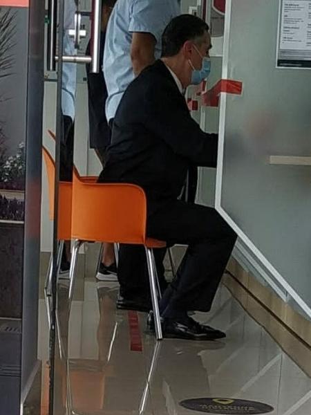 O ministro do STF Luís Roberto Barroso faz exames de covid-19 regularmente - Reprodução/Coluna Esplanada
