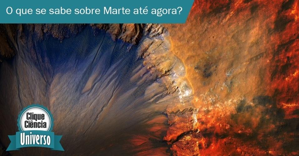 Em dezembro do ano passado, o robô de exploração Curiosity, enviado pela Nasa (agência espacial norte-americana) à Marte, detectou emissões de metano no Planeta Vermelho. O gás pode ser usado para alimentar formas muito simples de vida. Mas será que estamos próximos de cravar que há vida em marte?