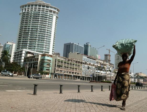 Luanda, capital de Angola - AFP