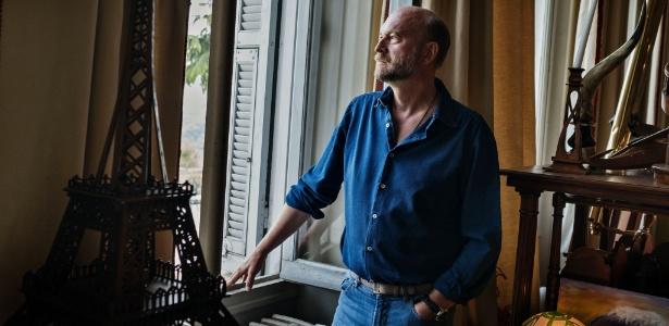Sergei Pugachev em sua casa em Nice, na França