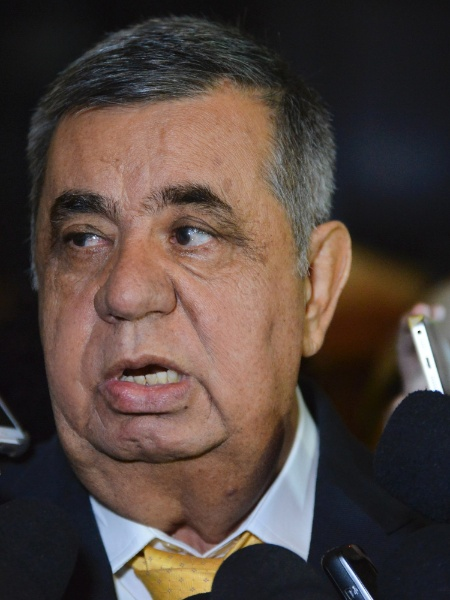 24.mai.2017 - Ex-presidente da Alerj (Assembleia Legislativa do Rio), Jorge Picciani  - Armando Paiva/Agif/Estadão Conteúdo