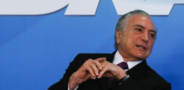 O presidente Michel Temer (PMDB) - Beto Barata/Presidência da República