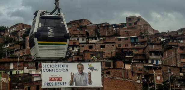 Economia será uma das principais tarefas do próximo presidente colombiano - Joaquin Sarmiento/AFP