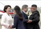 Presidente sul-coreano chega a Pyongyang para terceiro encontro com Kim Jong-un (Foto: KBS/Reuters)