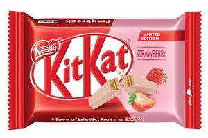 2da4c7add Depois de chocolate rosa, Nestlé anuncia Kit Kat sabores morango e ...