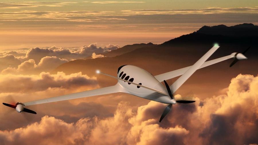 Protótipo de avião elétrico da Eviation Aircraft - Divulgação