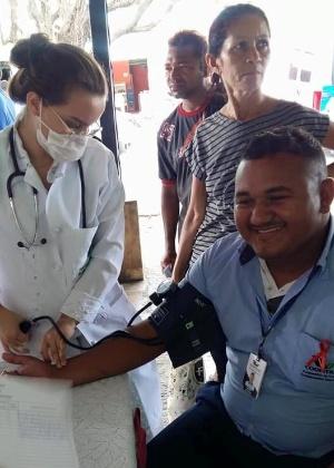 Atendimento médico em Granja, no Ceará, município que perderá 12 cubanos - Reprodução/Facebook