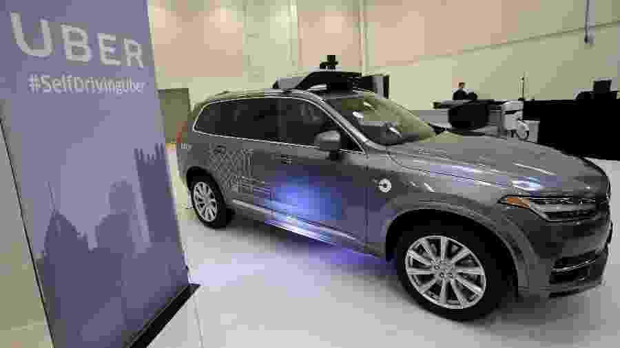 Volvo XC90, o carro autônomo da Uber que atropelou e matou pedestre no Arizona - Aaron Josefczyk/Reuters