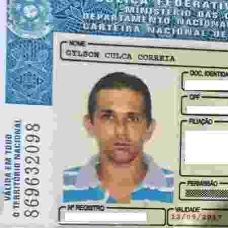"""Gylson Culca Correia, que foi morto """"por engano"""" na fazenda onde trabalhava - Polícia Militar de Várzea Grande/Divulgação"""