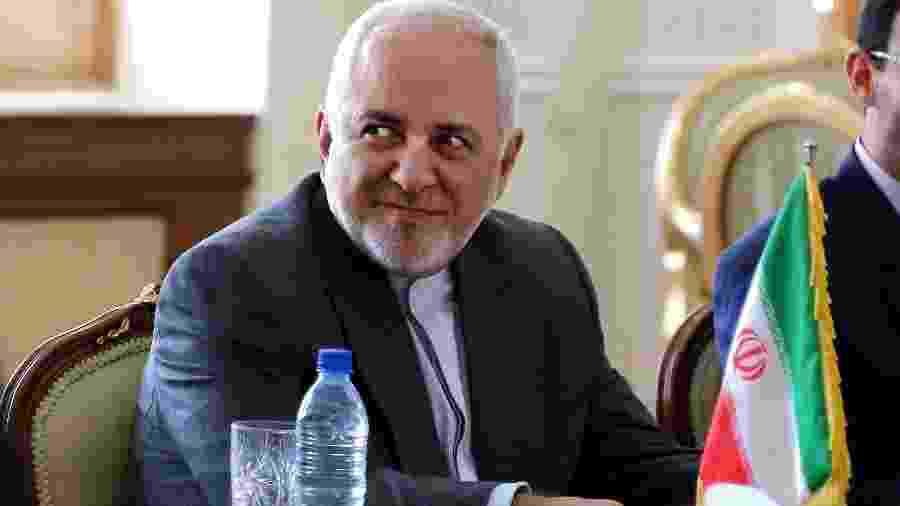 27.jul.2019 - Ministro de Relações Exteriores do Irã, Mohammad Javad Zarif  - Atta Kenare/AFP