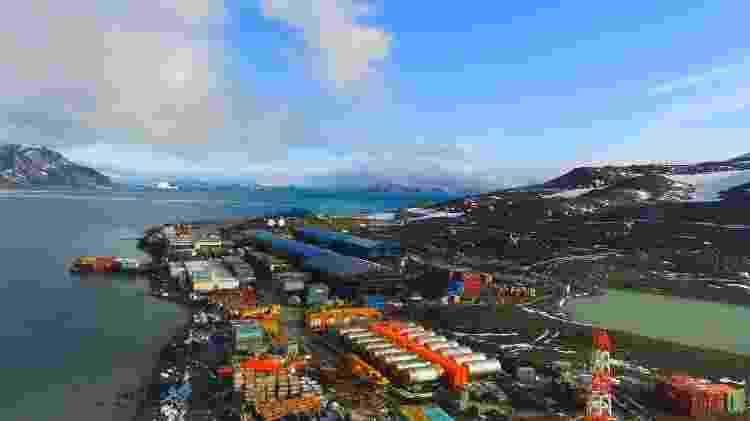 A nova base do Brasil Estação Antártica Comandante Ferraz - Agência Estado - Agência Estado