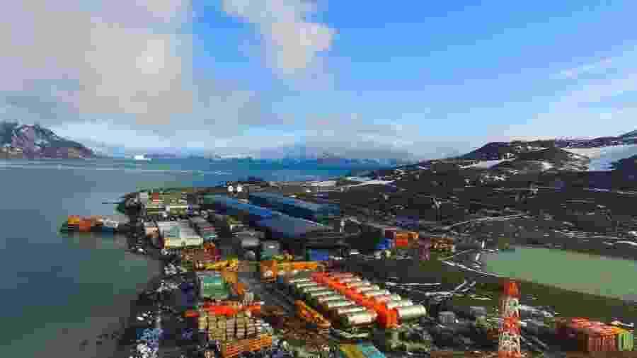 Estação Antártica Comandante Ferraz - Agência Estado
