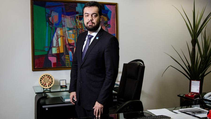 O vice-governador do Rio de Janeiro, Claudio Castro (PSC) - Folhapress
