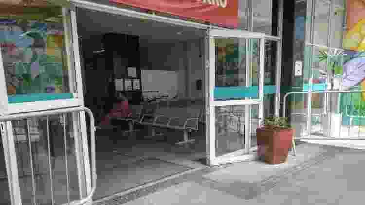 Pronto Socorro do Hospital Municipal Municipal Mboi Mirim vazio, em São Paulo - Cleber Souza/UOL - Cleber Souza/UOL