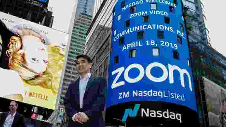 O Zoom tem que lidar com as falhas de segurança e privacidade que foram detectadas em seu serviço - Getty Images - Getty Images