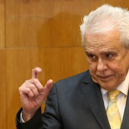 Roberto Castello Branco é presidente da Petrobras e se reuniu com Bolsonaro e ministros na manhã de hoje - RODOLFO BUHRER