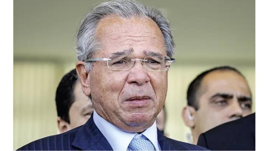 Paulo Guedes, ministro da Economia. PEC Emergencial está distante do seu gosto, mas serve de justificativa para ele ficar - Sergio Lima/AFP