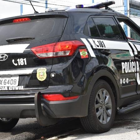Mulher foi presa pela Polícia Civil de SC - Divulgação/Polícia Civil de SC