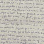 Na mesma carta, Monique relatou crise de ciúmes de Jairinho - Reprodução/Arquivo Pessoal