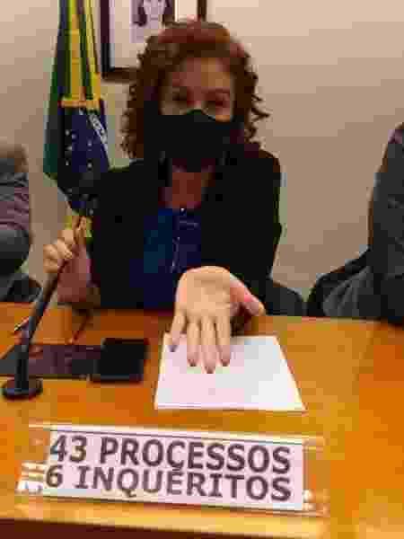 Carla Zambelli - Divulgação - Divulgação