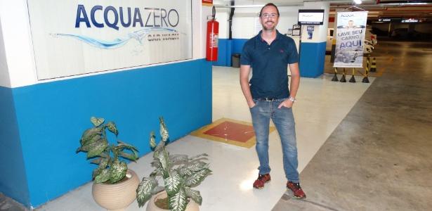 Carmona deixou o diploma de engenheiro para ter franquia de lavagem de carros - Divulgação