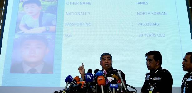 Polícia da Malásia apresenta suspeitos de ter ligação com a morte de Kim Jong-nam, em Kuala Lumpur