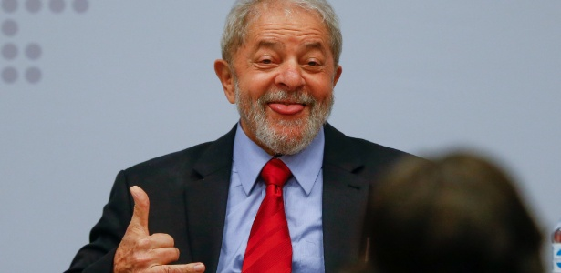 Ex-presidente Luiz Inácio Lula da Silva participou de seminário do PT nesta segunda (24) - Pedro Ladeira/Folhapress
