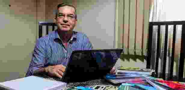"""""""O formato EAD veio para solucionar o problema"""", afirma Joary Carlos Antunes, 58 - Rafael Arbex/Estadão Conteúdo"""