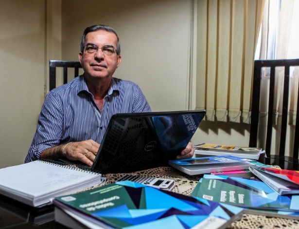"""O formato EAD veio para solucionar o problema"", afirma Joary Carlos Antunes, 58"